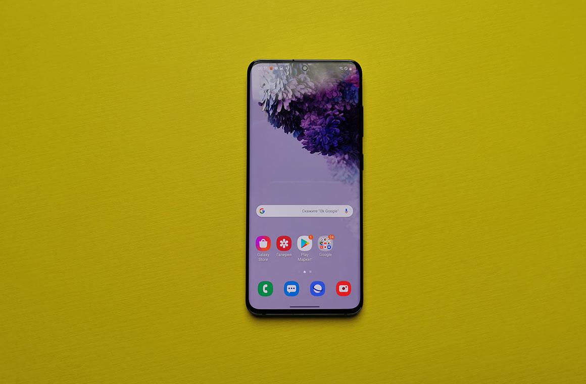 Лицевая панель Samsung Galaxy S20
