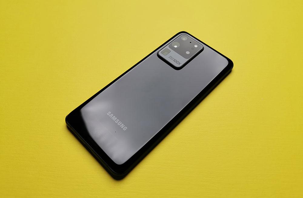 100-кратный зум Galaxy S20
