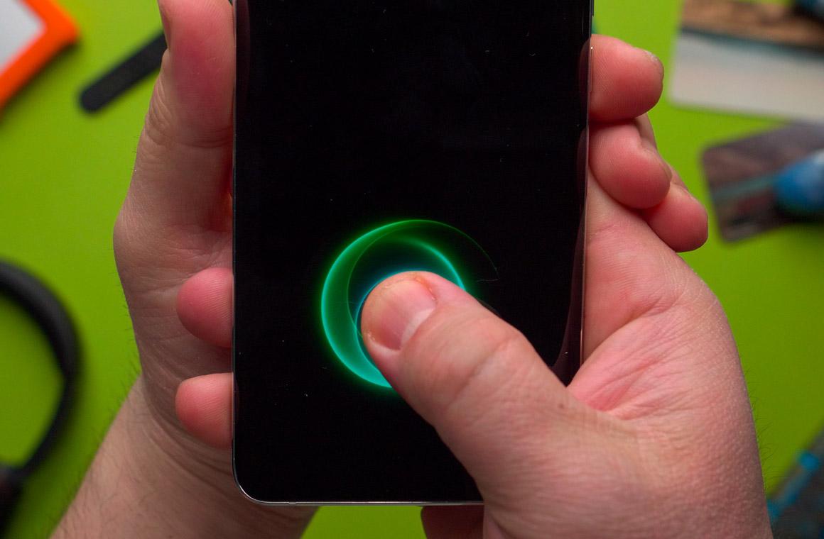 xiaomi mi note 10 pro сканер отпечатков пальцев