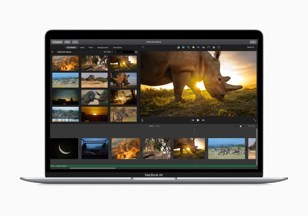 macbook air 2020 производительность