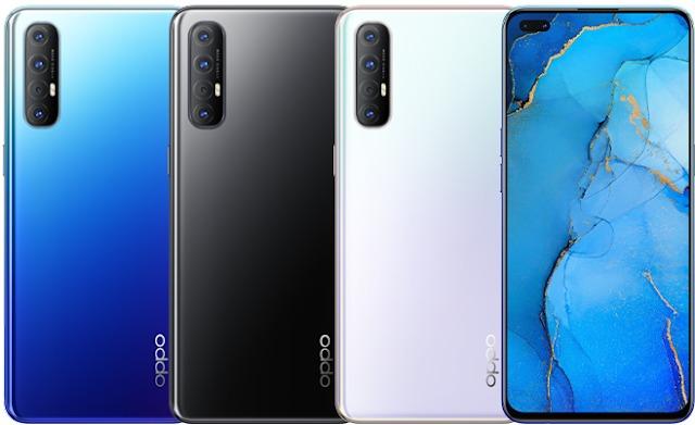Oppo Reno 3 Pro цвета
