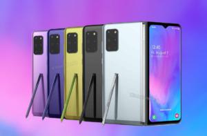 Samsung Galaxy Fold 2 сзади