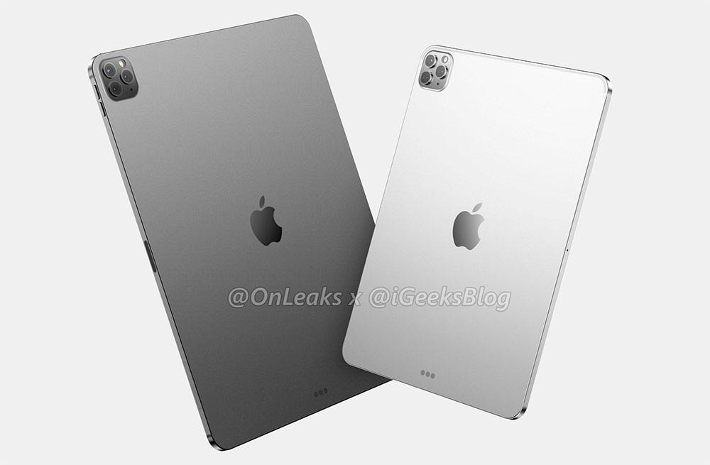 Рендер iPad Pro 2020 от OneLeaks