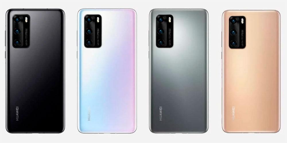 Цветовые решения Huawei P40