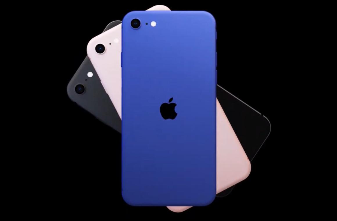 Предполагаемый дизайн iPhone 9/SE 2