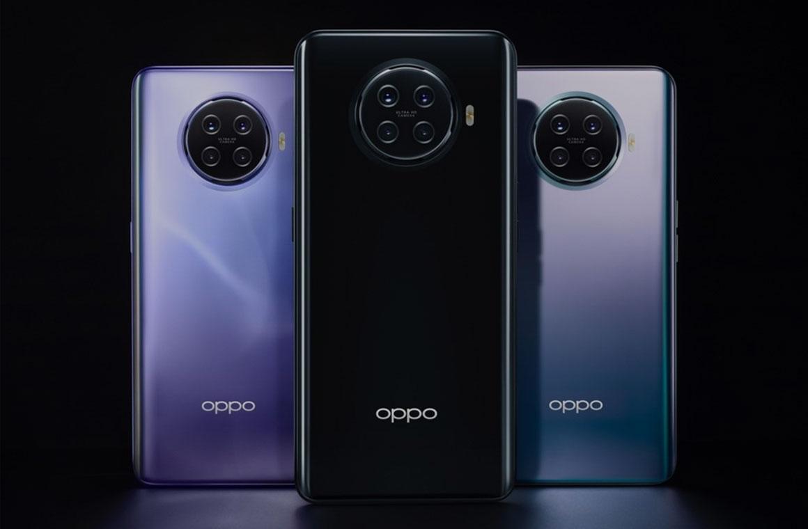 Oppo Ace2 сзади