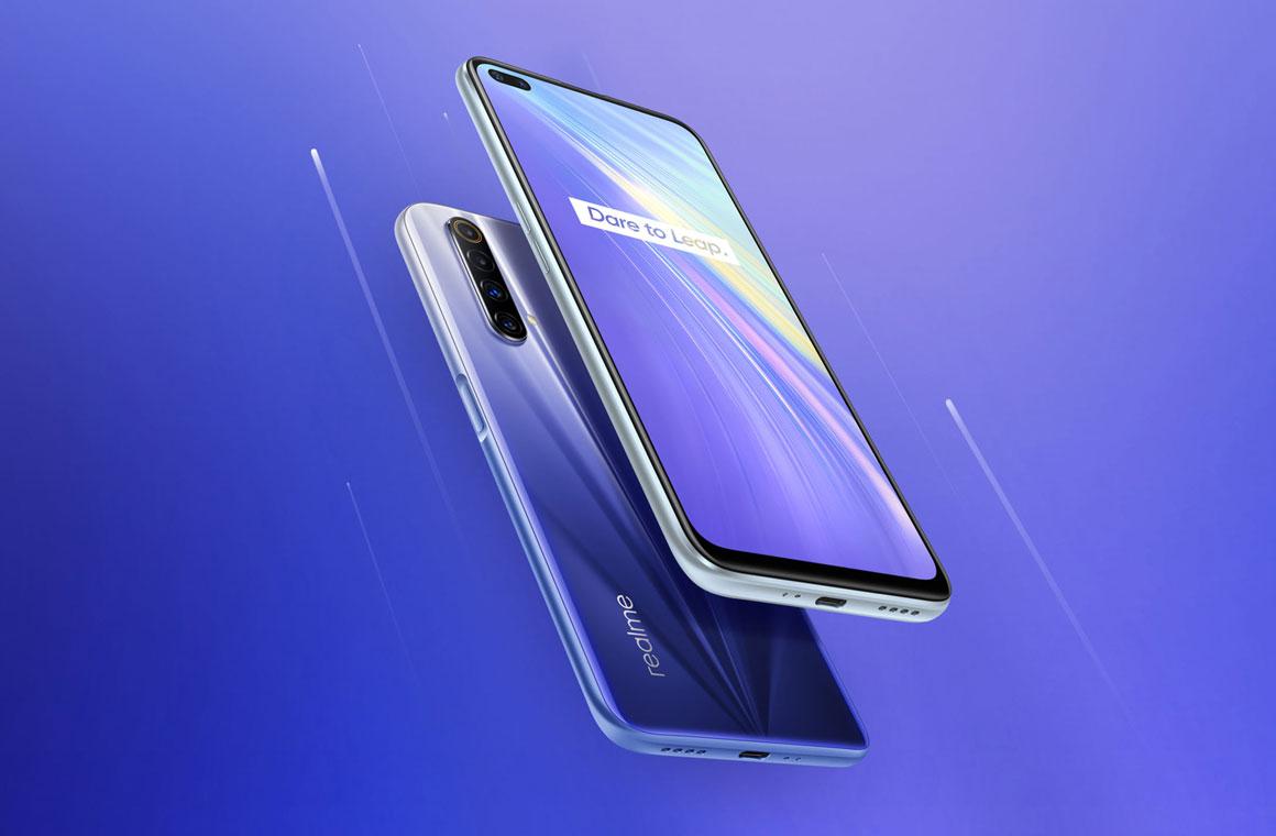 Realme X50M 5G синий