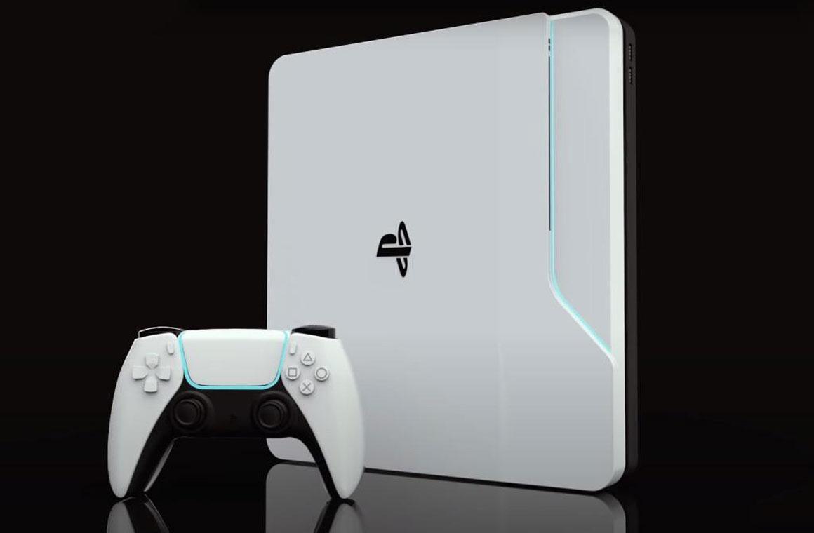 Sony PlayStation 5 концепт