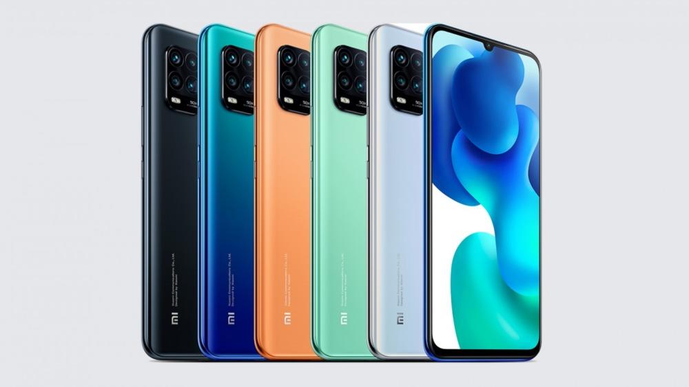 Xiaomi Mi 10 Youth Edition цвета