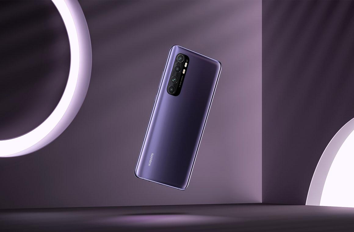 Xiaomi Mi Note 10 Lite сзади
