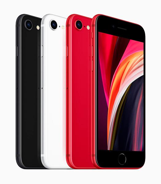 Цвета Apple iPhone SE 2020