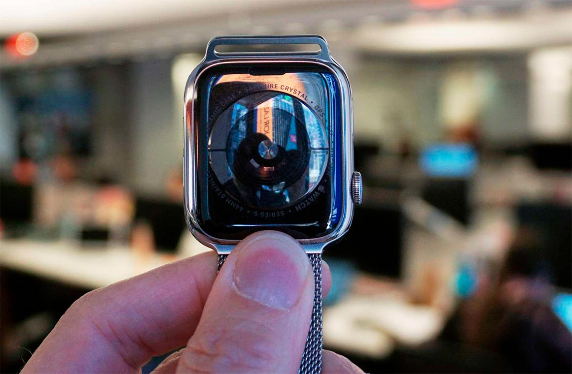 Apple Watch 5 Back