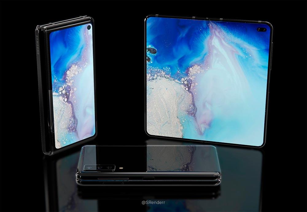 Рендер Samsung Galaxy Fold 2