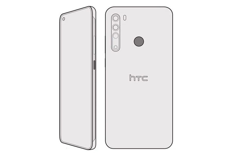 Эскиз HTC Desire 20 Pro