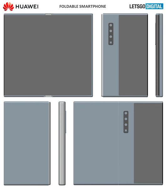 Новый складной Huawei