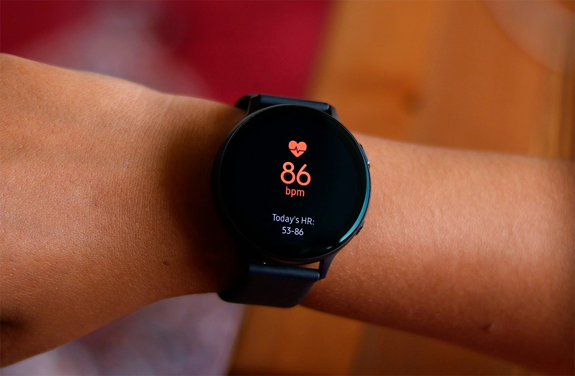 Samsung Galaxy Watch Active Blood Pressure