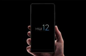 Логотип MIUI 12 для смартфонов Xiaomi