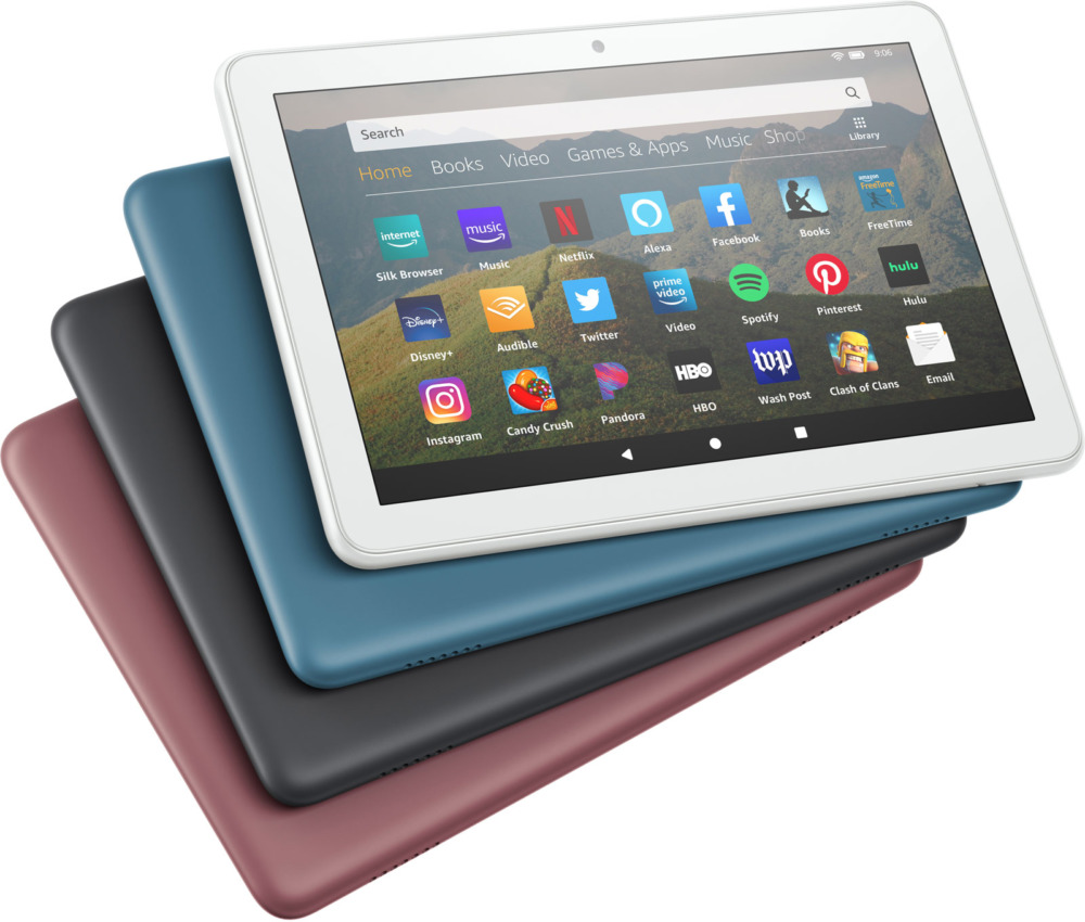 Amazon Fire HD 8 цвета