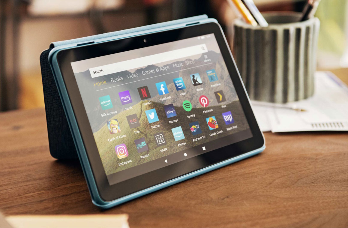 Amazon Fire HD 8 экран