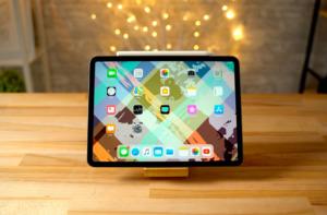 iPad дисплей