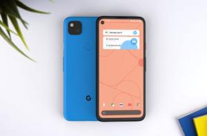 Google Pixel 4a синий