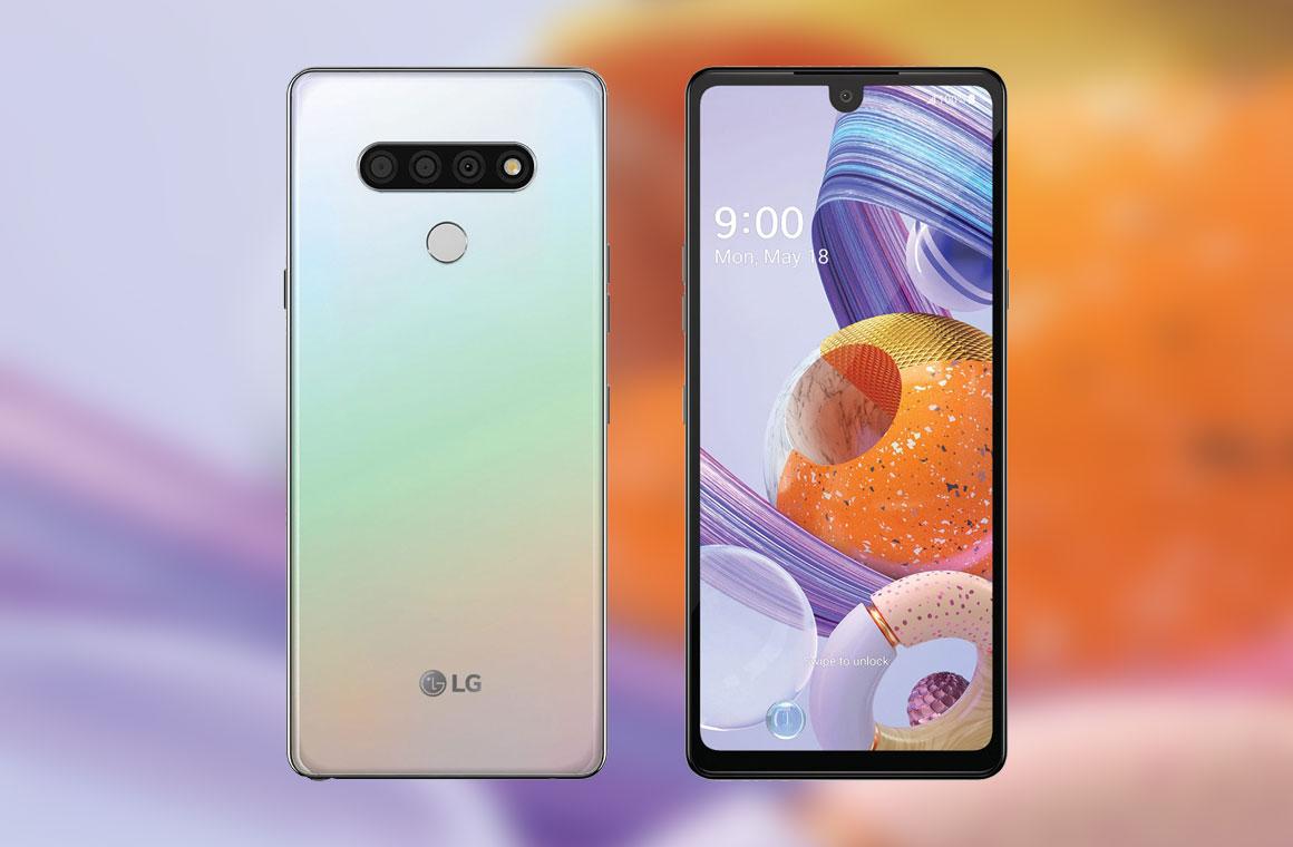 LG Stylo 6 с двух сторон