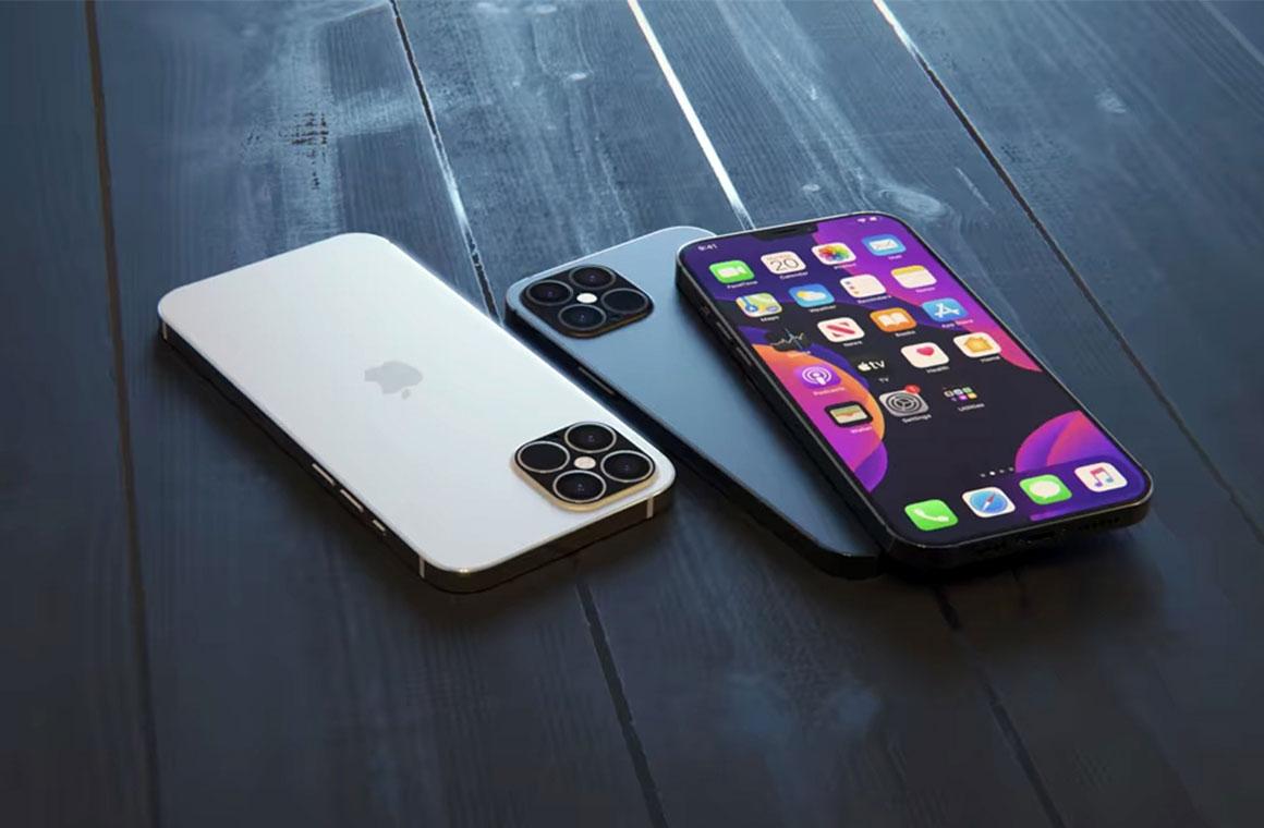 iPhone 12 рендер