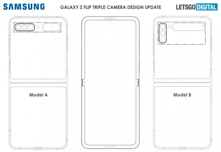 Samsung Galaxy Z Flip Patent