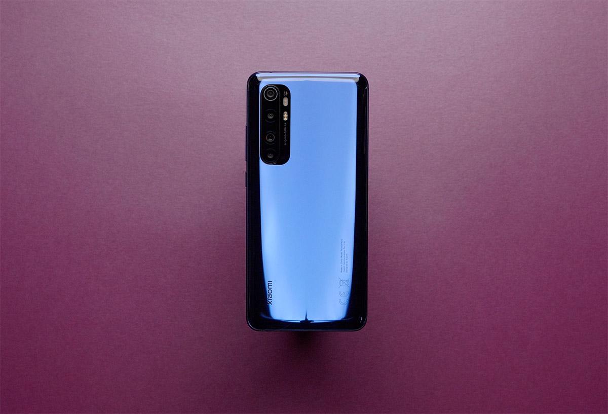 Xiaomi Mi Note 10 Lite дизайн