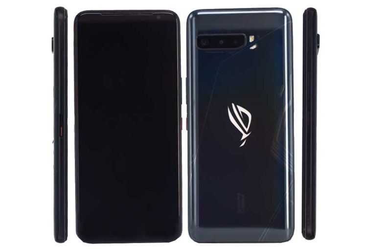 Asus ROG Phone 3 5G рендер