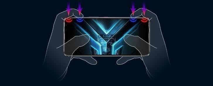Asus ROG Phone 3 кнопки