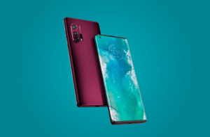 Motorola Edge+ бордовый