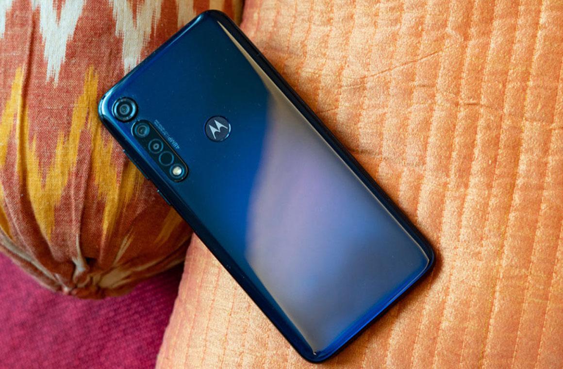 Motorola One Fusion спинка