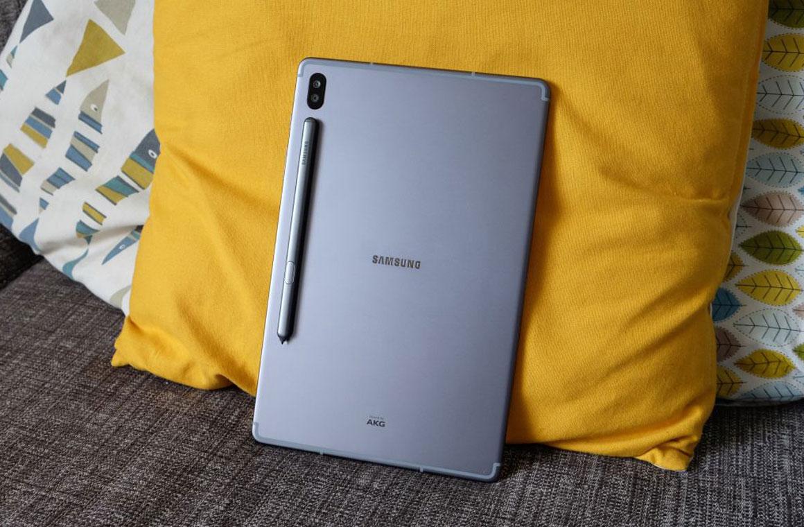 Samsung Galaxy Tab S7+ серый
