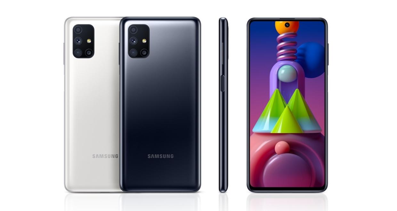 Samsung Galaxy M51 цвета