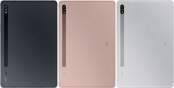 Samsung Galaxy Tab S7 цвета