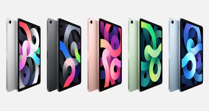 iPad Air цвета