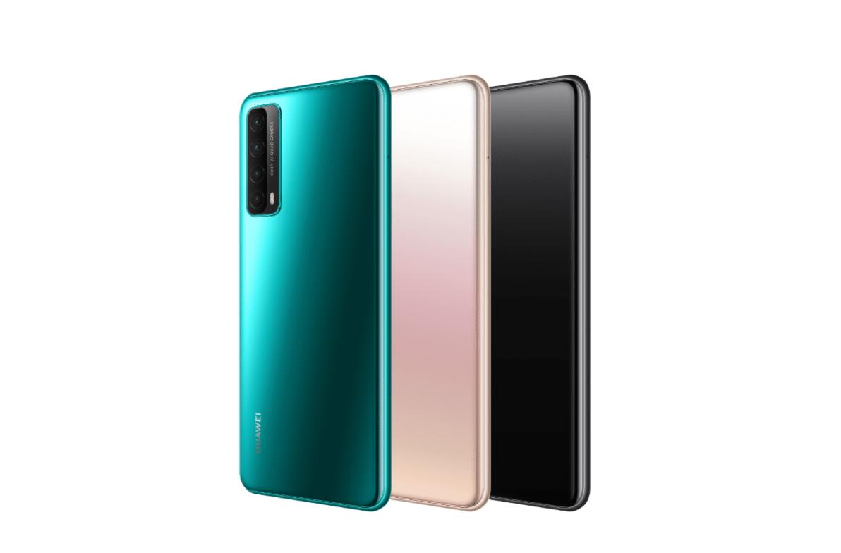 Huawei Y7a цвета
