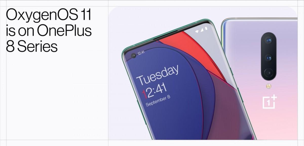 OnePlus 8 на Android 11