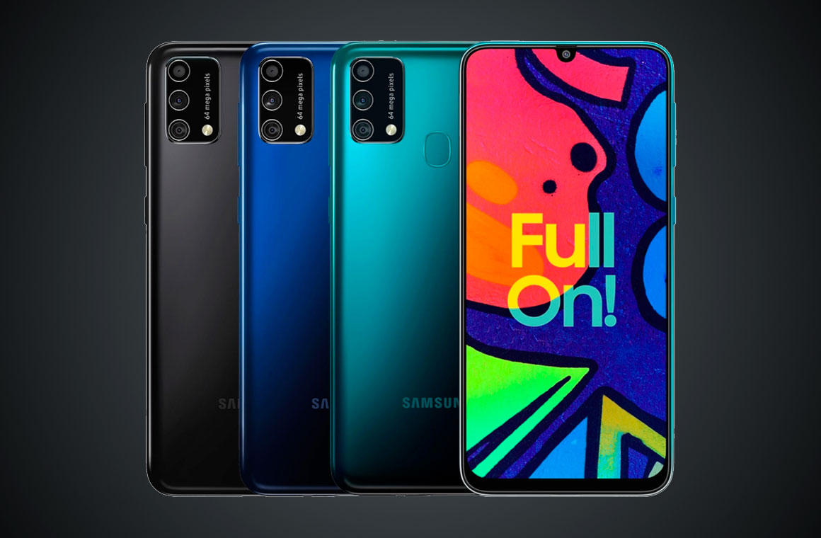 Samsung Galaxy F41 цвета