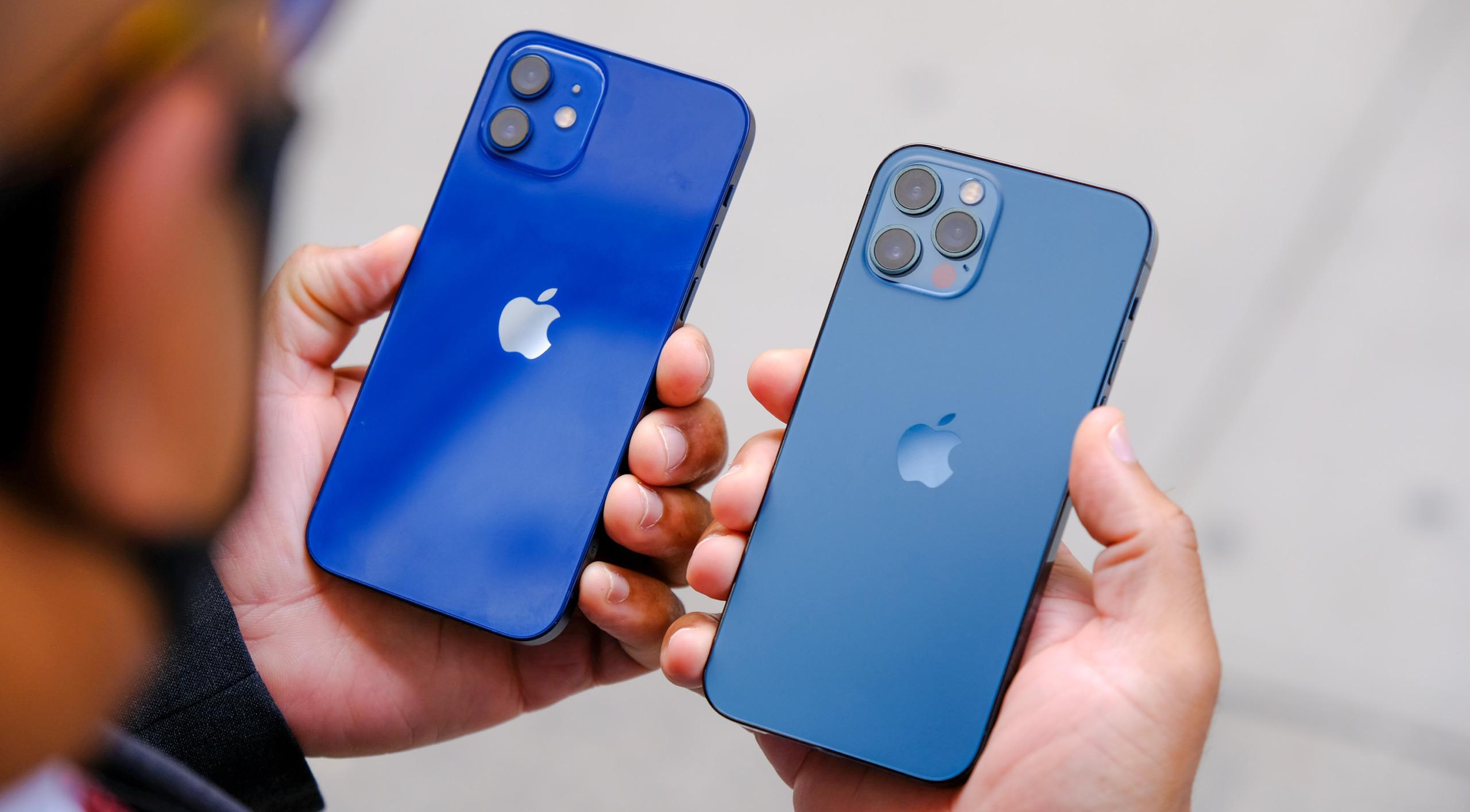 iPhone 12 против iPhone 12 Pro