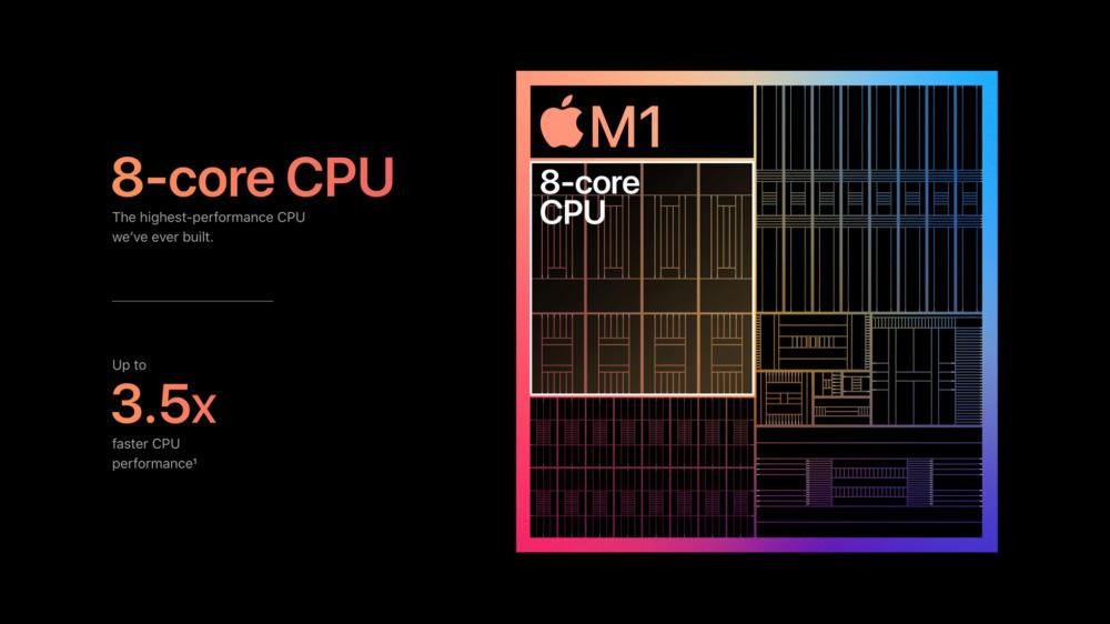 Apple M1 производительность