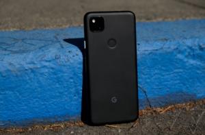 Google Pixel 4a back