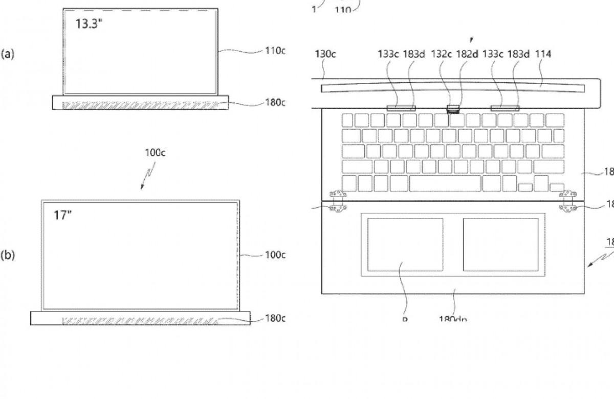LG rollavble laptop