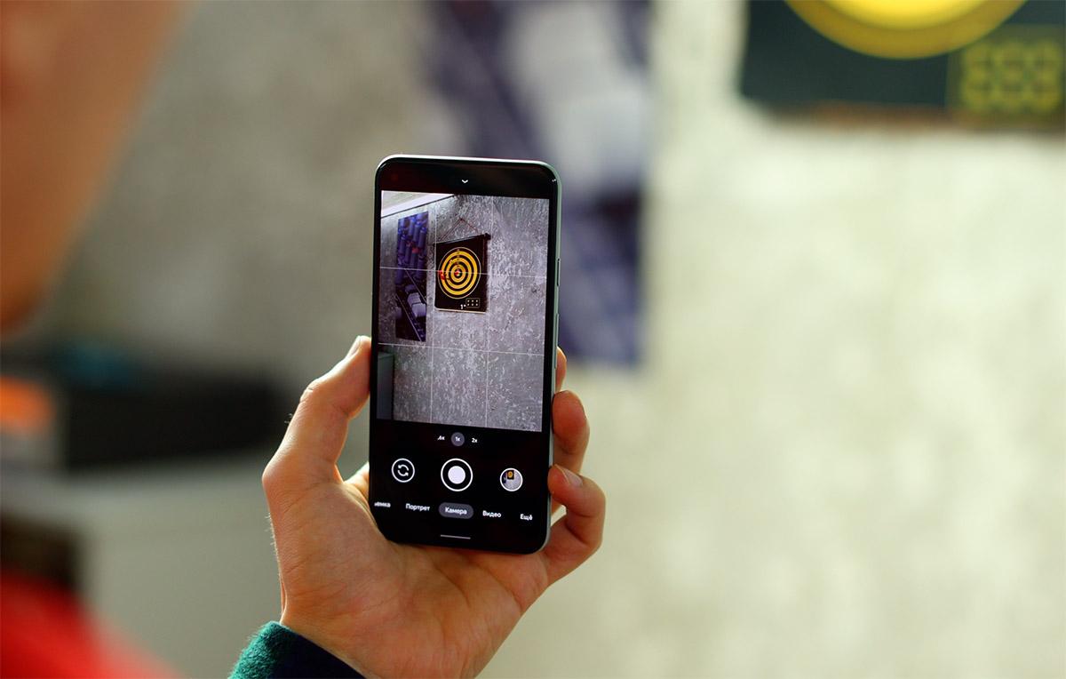 Pixel 5 камера