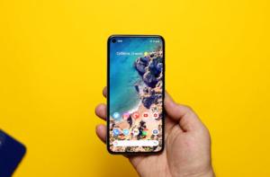 Pixel 5 дисплей