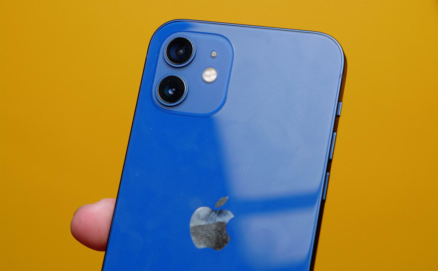 iPhone 12 отпечатки