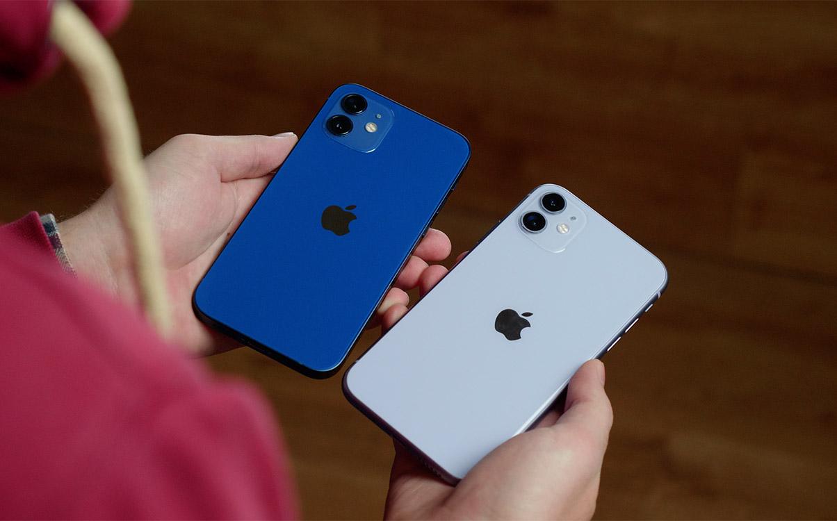 iPhone 12 и iPhone 11