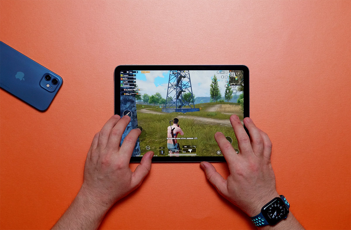 iPad Air 4 PUBG