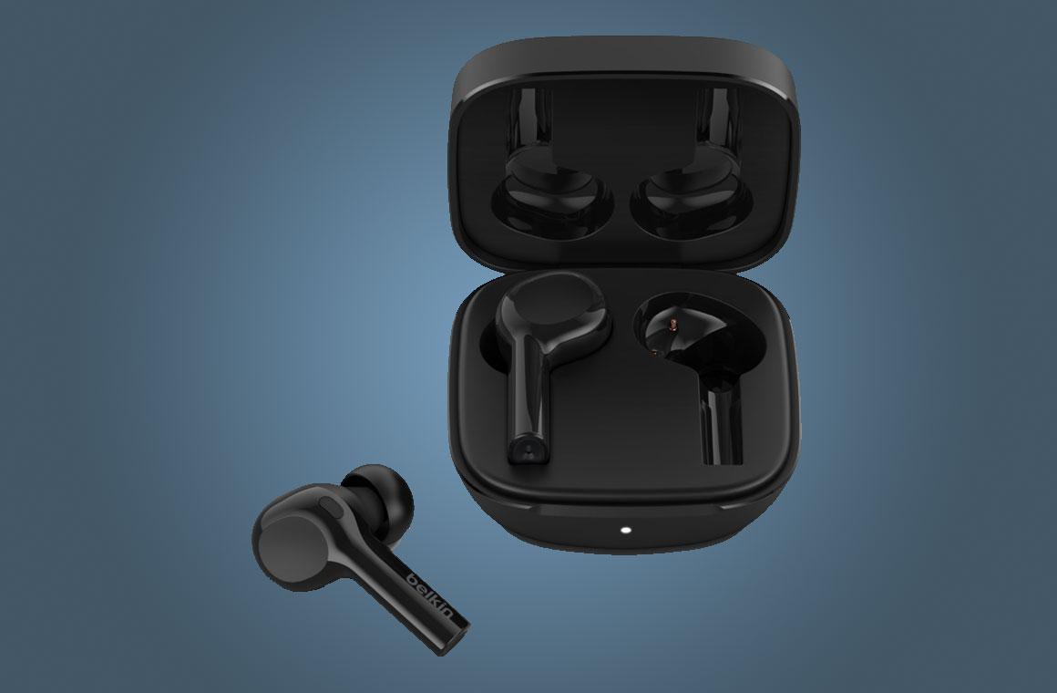 Belkin Soundform Freedom True Wireless Earbuds черный